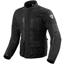 REV'IT! Sand URBAN NERO WP tessuto Touring MOTO GIACCA REV IT REVIT
