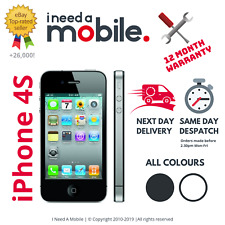 Apple iPhone 4S - 8GB 16GB 32GB 64GB - Unlocked - All Networks - Various Colours