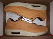 NIKE AIR MAX 1 LTR LEATHER PREMIUM BRONZE WHEAT Gr.40 45 705282 700 deluxe 90