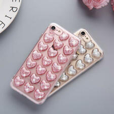 Cover Case For iPhone  Transparent Bling Clear Glitter TPU Soft Shockproof