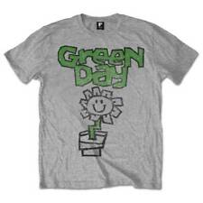 Green Day ' Flower Pot' T-Shirt - Nuevo y Oficial