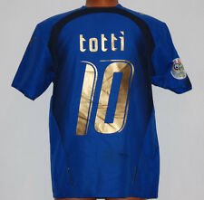 Maglia totti italia mondiale germany 2006 world cup 3 stars puma no worn Jersey