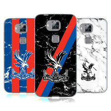 OFFICIAL CRYSTAL PALACE FC 2017/18 MARBLE SOFT GEL CASE FOR HUAWEI PHONES 2