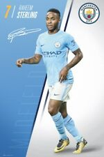 Manchester City FC Sterling 17-18 MCFC Poster 61x91.5cm