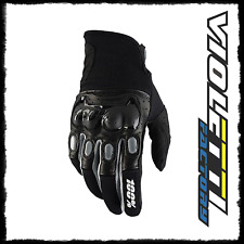 GUANTI 100% DERESTRICTED ADULTO MOTOCROSS MX ENDURO OFFROAD BLACK/GREY