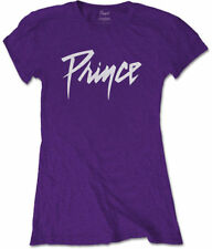 Prince 'Logo' Womens Fitted T-Shirt - Nuevo y Oficial