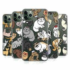 HEAD CASE DESIGNS CAT BREED PATTERNS SOFT GEL CASE FOR APPLE iPHONE PHONES