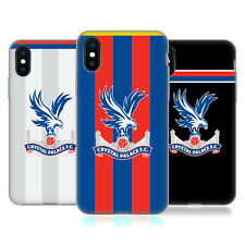 OFFICIAL CRYSTAL PALACE FC 2017/18 PLAYERS KIT GEL CASE FOR APPLE iPHONE PHONES