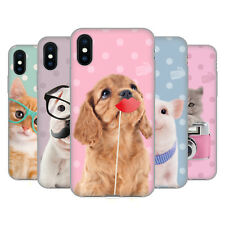OFFICIAL STUDIO PETS PATTERNS SOFT GEL CASE FOR APPLE iPHONE PHONES