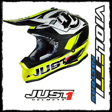 CASCO CROSS ENDURO JUST1 J32 PRO RAVE NEON YELLOW BLACK