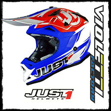 Casco Cross | Enduro JUST1 J32 Pro Rave red | blue