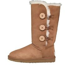 UGG Womens Bailey Button Triplet Button Boots Chestnut