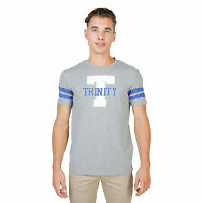 T-shirt Oxford University TRINITY STRIPED MM, Uomo Grigio Primavera/Estate