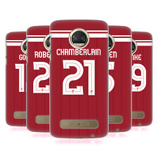 LIVERPOOL FC LFC GIOCATORI HOME KIT 17/18 2 COVER RETRO PER MOTOROLA TELEFONI 1