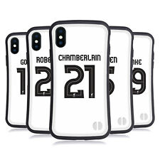 LIVERPOOL FC GIOCATORI AWAY KIT 17/18 2 CASE IBRIDA PER APPLE iPHONES TELEFONI