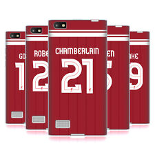 LIVERPOOL FC LFC GIOCATORI HOME KIT 17/18 2 CASE IN GEL PER BLACKBERRY TELEFONI