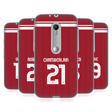 LIVERPOOL FC LFC GIOCATORI HOME KIT 17/18 2 CASE IN GEL PER MOTOROLA TELEFONI 2