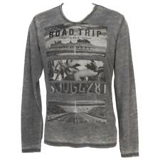 Tee shirt manches longues Rms 26 Boad trip anth ml tee Gris 59932 - Neuf