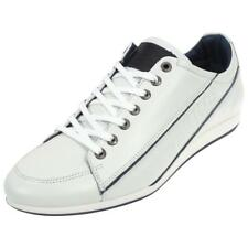 Chaussures basses cuir ou simili Redskins Wolki blanc/navy Blanc 54912 - Neuf