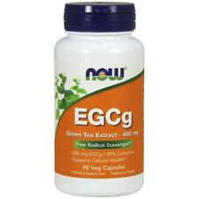 NOW Foods  EGCg Green Tea Extract, 400mg   Free P&P