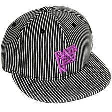 Casquette BATALEON white black pinstripes Exclusif CultureShoes