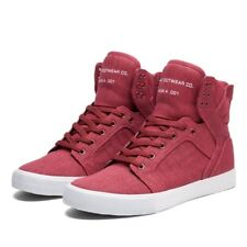 Sneakers Homme Shoes SUPRA SKYTOP Burgundy white