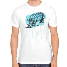 T-Shirt ECKO UNLTD The Exhibit Save Superblast Bleach White Limited edition