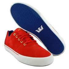 Sneakers Homme Shoes SUPRA CUTTLER LOW RED / WHITE / BLUE - WHITE