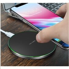 GENUINE Qi Wireless Fast Charger Charging Pad Dock Mat For Samsung NOTE 8 S8 +