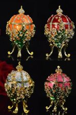 Fashion Valuable Metal religious mascot Collection Faberge egg Collection