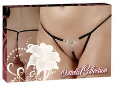 String Tanga Sexy Cottelli Collection Lingerie Strass Strass String
