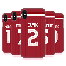 LIVERPOOL FC LFC PLAYERS HOME KIT 17/18 GROUP 1 CASE FOR APPLE iPHONE PHONES