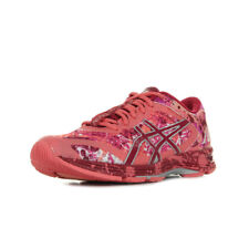 Chaussures Baskets Asics femme Gel Noosa Tri 11 taille Rose Synthétique Lacets