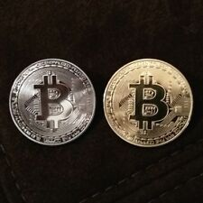 Bitcoin and Litecoin physical coins. Collectable cryptocurrency gifts UK SELLER!