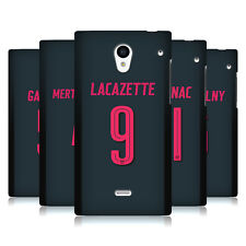 UFFICIALE ARSENAL FC 2017/18 GIOCATORI KIT THIRD 2 CASE PER SHARP TELEFONI
