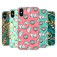 OFFICIAL JULIA BADEEVA  TROPICAL PATTERNS HARD BACK CASE FOR APPLE iPHONE PHONES