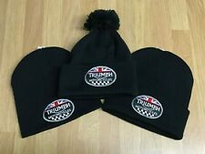 Triumph Motorcycles Union Jack - Version 3 - Woolly Hats   Beanies   Bobble  Hats 871c076068e