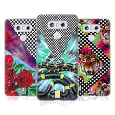 HEAD CASE DESIGNS TIE DYE AND MESH PRINTS HARD BACK CASE FOR LG PHONES 1