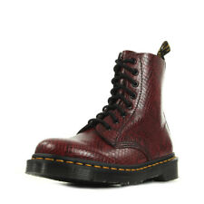 Chaussures Boots Dr Martens femme Pascal Asp Wine Viper taille Bordeaux Cuir
