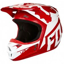 FOX CASCO CROSS V1 RACE HELMET ROJO BLANCO AZUL