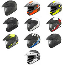 Schuberth E1 plegable delantero Up ADVENTURE Moto Casco