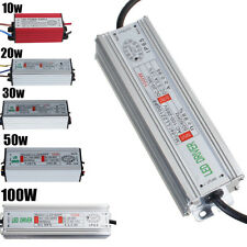 10W 20W 30W 50W 100W Waterproof LED Driver Power Supply Transformer AC100V-265V