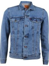 Levi's Uomo Giacca in jeans THE Camionista Giacca - Regular Fit - Blu - Icy