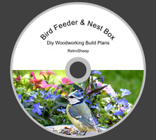 BIRD FEEDER NEST NESTING BOX  HOW TO BUILD DIY  PLANS & GUIDES  #Garden #Birds