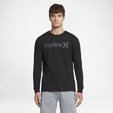 Hurley One And Only Push Through Long Sleeve T-Shirt Black / Whi
