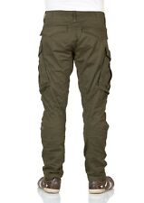 G-Star Herren Cargo Hose Rovic Zip 3D Tapered - Grün - Dark Bronze Green