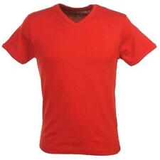 Tee shirt manches courtes Crossby Fit d rouge mel mc tee Orange 58404 - Neuf