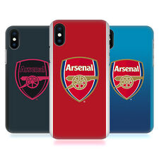 UFFICIALE ARSENAL FC 2017/18 KIT CREST COVER RETRO PER APPLE iPHONE TELEFONI