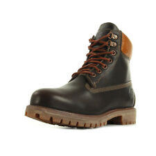 Chaussures Boots Timberland homme 6 IN Prem Bt taille Marron Cuir Lacets