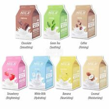 APIEU Milk Extract Infused Milk One Pack Sheet Mask - 7 Types
